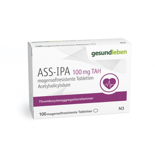ASS-IPA 100mg TAH